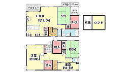 [一戸建] 兵庫県神戸市北区君影町5丁目 の賃貸【/】の間取り