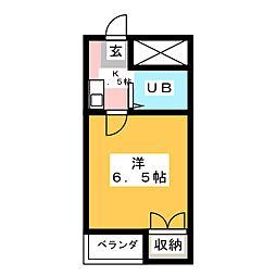 レオパレスRX岩塚第2[2階]の間取り