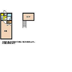 レモンハウス高坂6[A203号室]の間取り