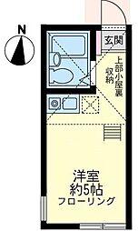 小倉マヨルカの杜[1階]の間取り