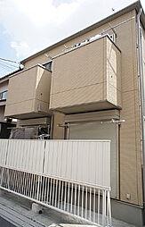 埼玉県草加市氷川町の賃貸アパートの外観