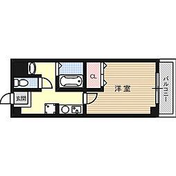 フェリーチェ寺本[5階]の間取り