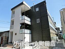 神奈川県相模原市南区東林間4丁目の賃貸アパートの外観