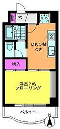 タチビル中野[3階]の間取り