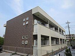 埼玉県川口市新井町の賃貸アパートの外観