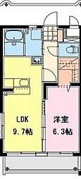(仮称)永楽町マンション[301号室]の間取り
