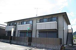 兵庫県たつの市新宮町下野の賃貸アパートの外観