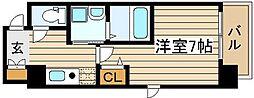 SWISS梅田東[9階]の間取り