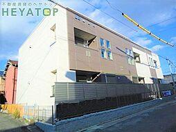 愛知県名古屋市南区鶴田1丁目の賃貸アパートの外観
