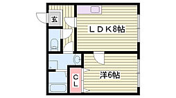 霞ヶ丘駅 4.3万円