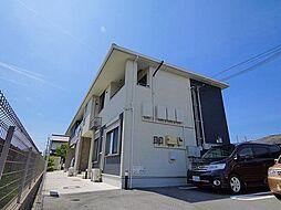 奈良県磯城郡田原本町の賃貸アパートの外観