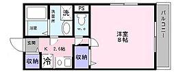 Kiyo maison綾園[2階]の間取り