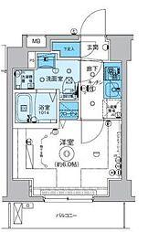 リヴシティ横濱インサイト[2階]の間取り