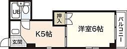 木坂宝町ビル[3階]の間取り
