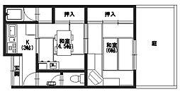 [テラスハウス] 京都府向日市物集女町御所海道 の賃貸【/】の間取り