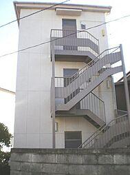 東京都世田谷区砧6丁目の賃貸アパートの外観