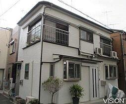 東京都板橋区上板橋2丁目の賃貸アパートの外観