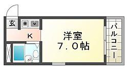 プリエールJR尼崎駅前[8階]の間取り