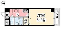 ジョイフル第5中村[206号室]の間取り