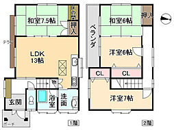 志染駅 1,080万円