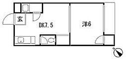 広島ベーカリービル[3階]の間取り