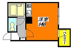 清洲・プラザ・高井田 705号室[7階]の間取り
