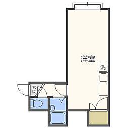 フロンティアK2[2階]の間取り