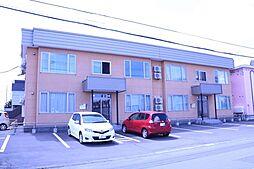 北海道旭川市北門町19丁目の賃貸アパートの外観