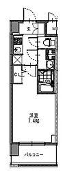 S-RESIDENCE新大阪Garden[8階]の間取り