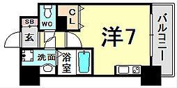 パシフィックレジデンス神戸八幡通[4階]の間取り