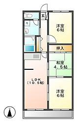 ファミール(小伊木町)[1階]の間取り