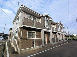 千葉県八街市八街ろの賃貸アパートの外観