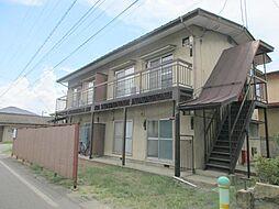 長野県長野市青木島町綱島の賃貸アパートの外観