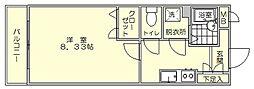 クリア吉塚[2階]の間取り