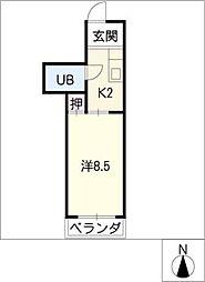 メゾン603[3階]の間取り