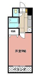 KMマンション八幡駅前[802号室]の間取り