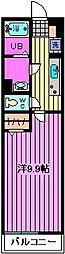 リブリ・与野本町[1階]の間取り