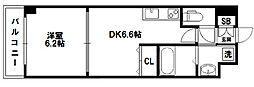WillDo 十三東1st[6階]の間取り