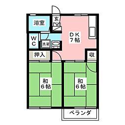 メゾン丸子[2階]の間取り