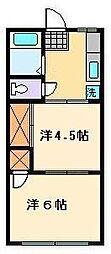 タイムズマンション[2階]の間取り