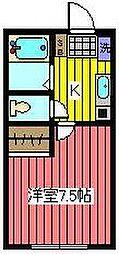 レジデンス・イン・鳩ヶ谷[1階]の間取り
