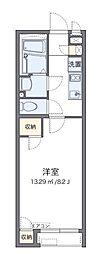 JR相模線 門沢橋駅 徒歩5分の賃貸アパート 1階1Kの間取り