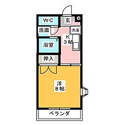 プチホームKAKO[1階]の間取り