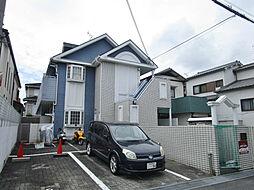 大阪府枚方市北船橋町の賃貸アパートの外観