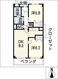 grandiose[2階]の間取り