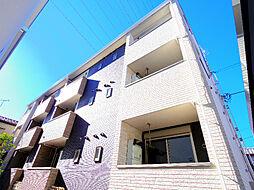 埼玉県新座市北野2丁目の賃貸アパートの外観