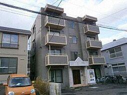 北海道札幌市白石区栄通21丁目の賃貸マンションの外観