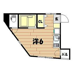 Wing戸塚[4階]の間取り