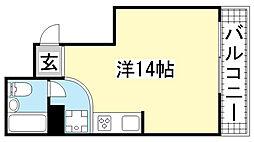 ネオダイキョー神戸元町[301号室]の間取り