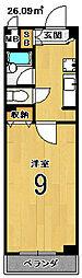 マンションアネックス[3階]の間取り